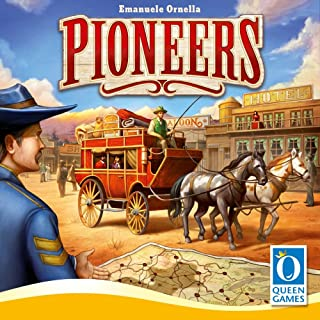 Queen Games Pioneers Board Game