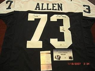 Larry Allen Dallas CowboysHof 2013Sbxxx Champs7Xallpro JSA Autographed Signed Jersey