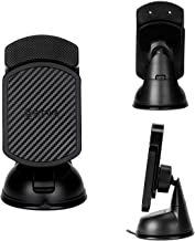 PITAKA Magnetic Mount for S9/S9+ -Premium Luxury 360 Degree Rotation Suction Cup Car Mount Cell Phone Holder for Samsung Galaxy S9/S9 Plus