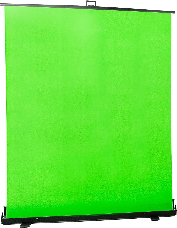 VIVO Collapsible Brand Cheap Sale Venue 100 inch Diagonal 5 ☆ popular Mountable Screen Pull- Green