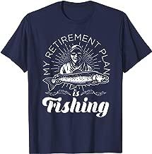 My Retirement Plan is Fishing Shirt TShirt for Fishermen