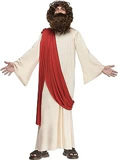 Fun World 110782L Boy's Complete Jesus Costume - Large - Tan