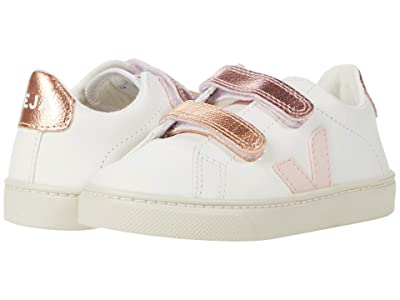 VEJA Kids Small Esplar Velcro (Toddler) (Extra White/Petale/Venus) Kid