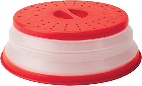 Tovolo 81-31531 - Funda para microondas (26.67 cm), Rojo, Único, 1