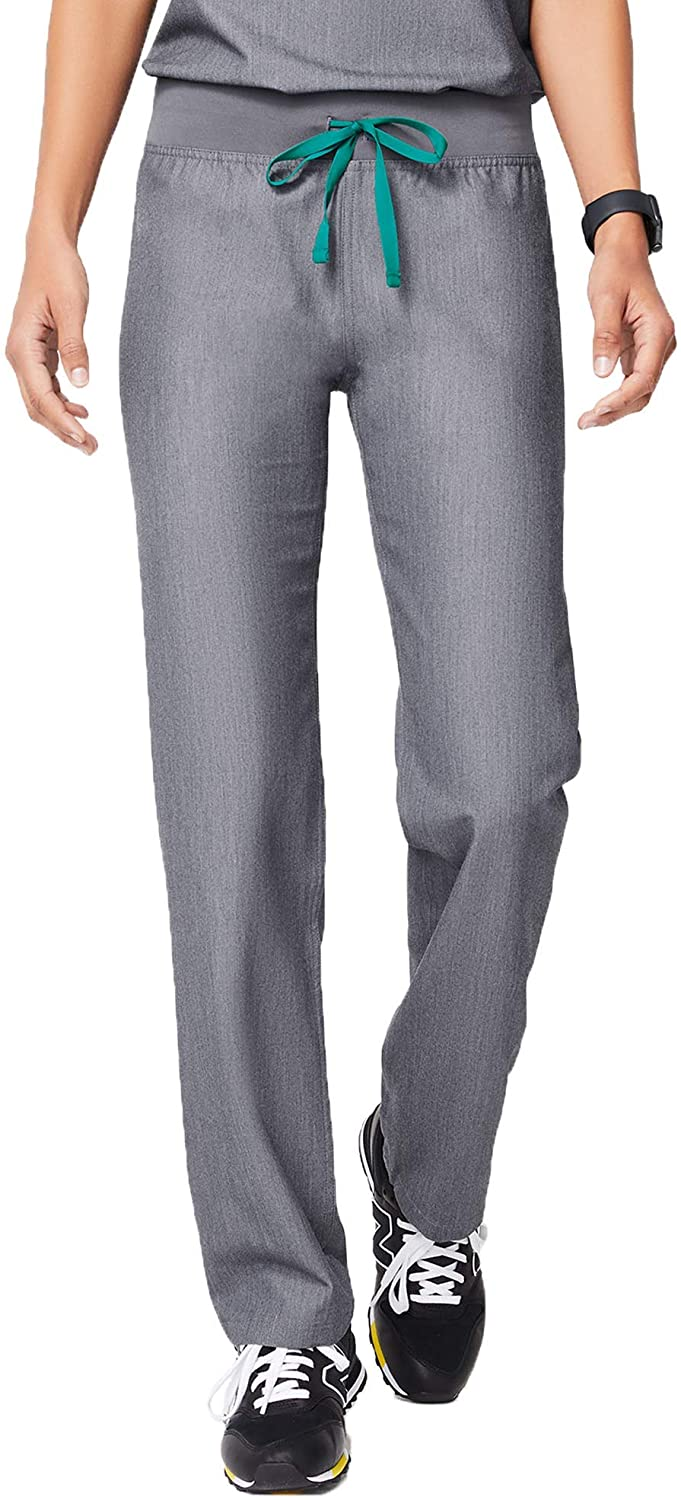 FIGS Livingston Basic Scrub Pants for Women – Tailored Fit,