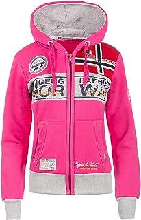 Geographical Norway - Felpa da donna con cappuccio