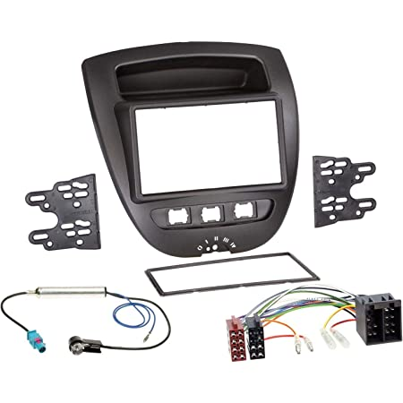 Radioeinbauset Für Doppel Din Autoradio In Peugeot 107 Elektronik