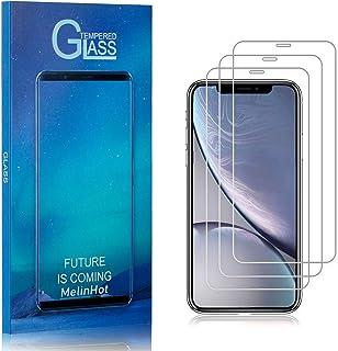 Displayschutzfolie für iPhone 11, MelinHot Ultra klar Schutzfilm aus Gehärtetem Glas, Anti Öl, Anti Kratzen, Hoch Transparenz, 3 Stück