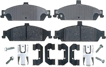 ACDelco 17D727CH Professional Ceramic Front Disc Brake Pad Set