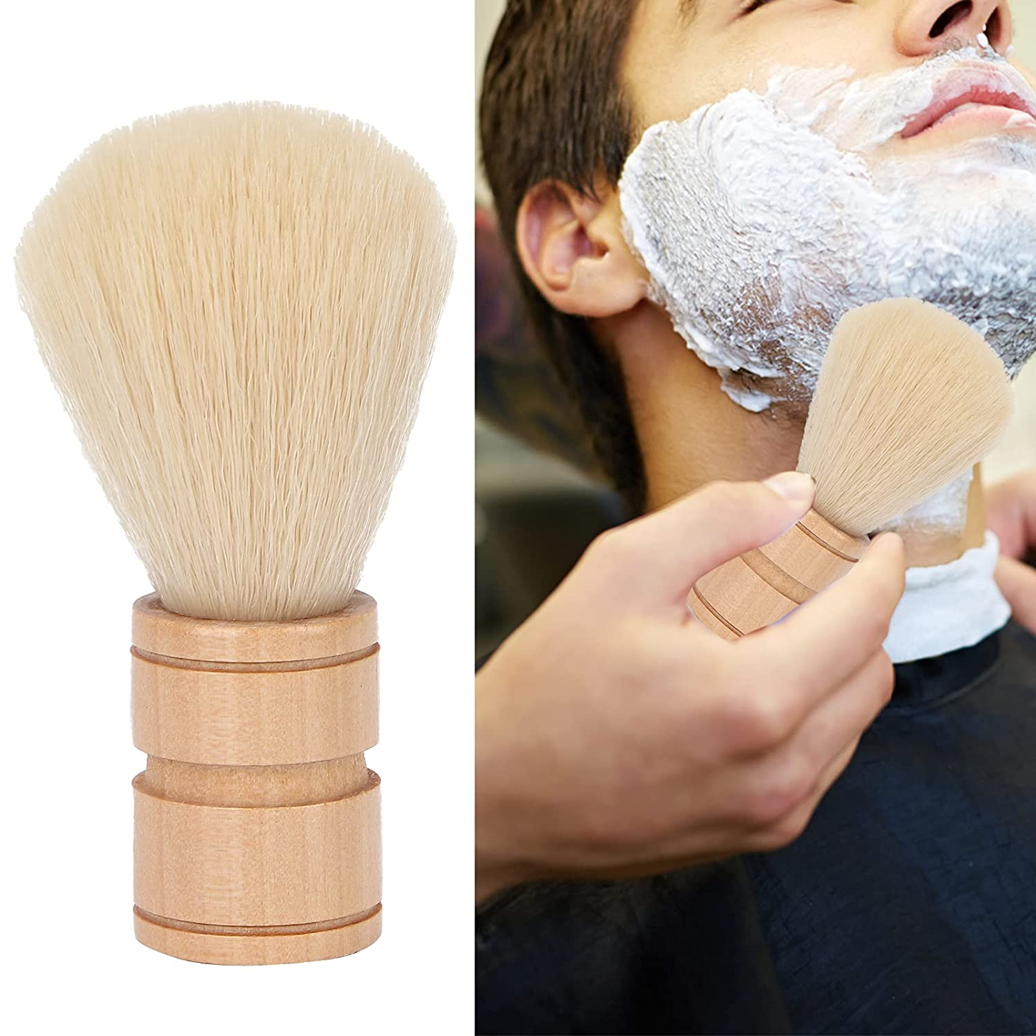 Hair Shave Brush Professional Distributing 5 ☆ popular Foam Weight Sh Light New product