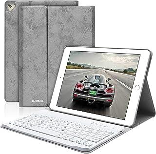 BaIBaO iPad Keyboard Case 9.7 for iPad 2018 6th Gen iPad 2017 5th Gen iPad Pro 9.7 iPad Air 2 Air 1 iPad Case with Detachable Bluetooth Keyboard