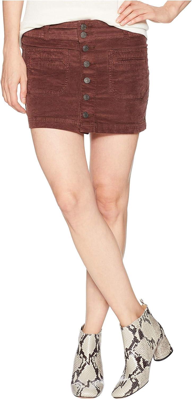 Free People Womens Joanie Corduroy Skirt