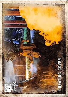 2018 Topps Walking Dead Season 8 Part 1#84 Creating Cover Official TV Series Trading Card