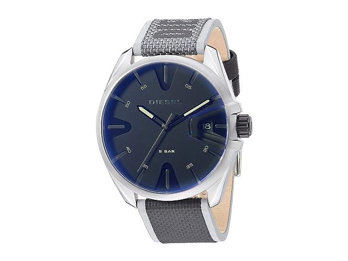 Diesel  MS9 Three-Hand Nylon Watch DZ1902 (Black) Watches