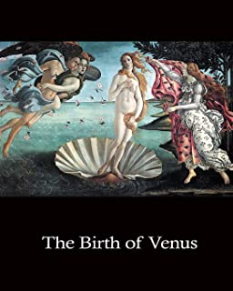"""Daily Organizer and Planner: The Birth of Venus by Botticelli: 140 Page 6"""" x 9"""" Notebook Journal Diary"""