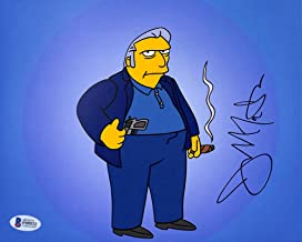 Joe Mantegna The Simpsons Authentic Signed 8x10 Photo Autographed BAS #F09532