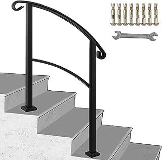 aluminum stair handrails exterior