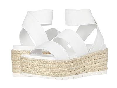 J/Slides Quartz (White Elastic) Women