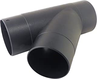 4 to 2.5 Duct Reducer ABS Plastic with 4 OD and 2.5 OD Openings Dust Collector Systems 73448 Taylor Toolworks