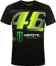 Valentino Rossi VR46 Moto GP VR/Monster Large Logo T-Shirt Official 2019