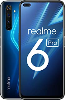 "realme 6 Pro – Smartphone de 6.6"", 6 GB RAM + 128 GB de ROM, Procesador OctaCore Snapdragon 720G, Cuádruple Cámara AI 64MP..."