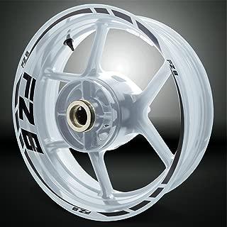 R/éfl/échissant Rouge Autocollant de Jante de Moto Inner Rim Tape pour Ducati Hypermotard