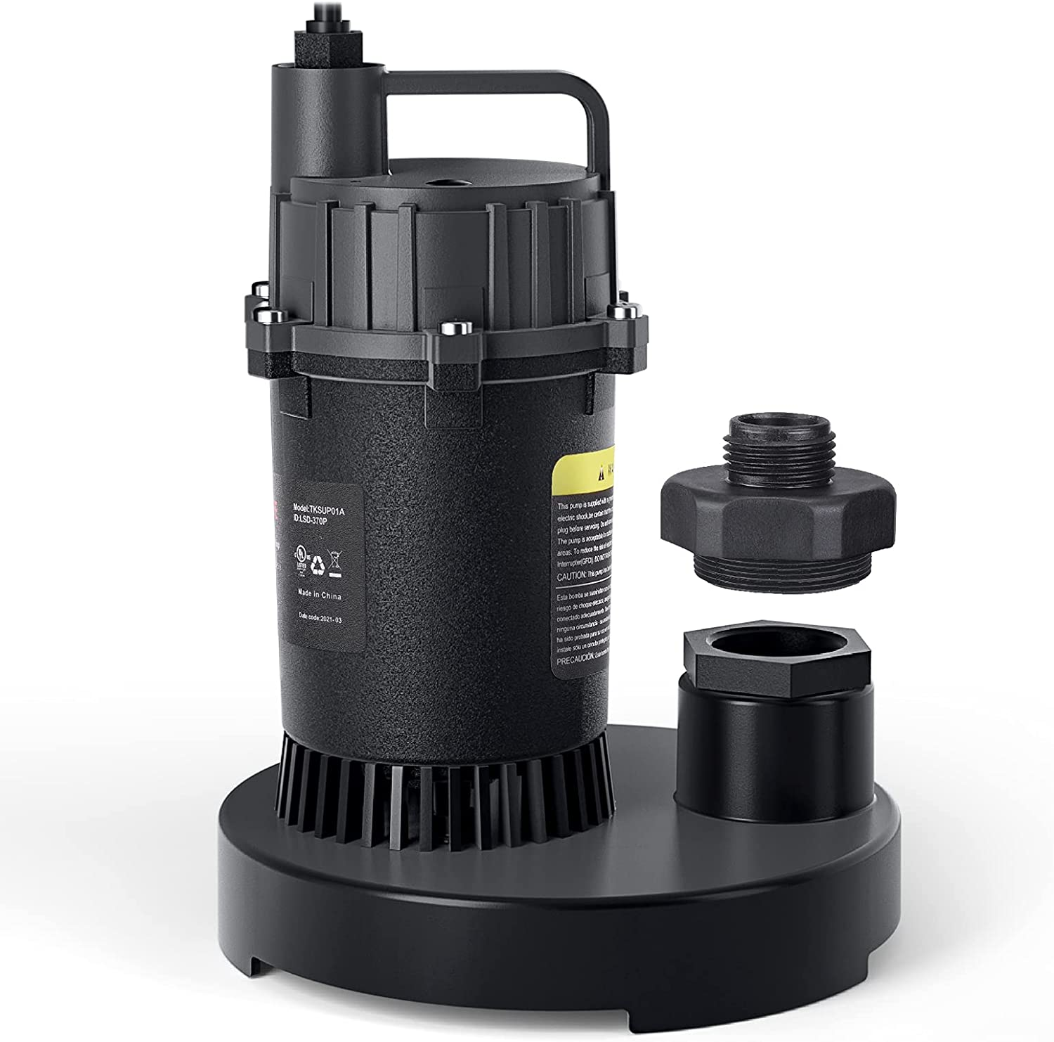 DSF 1/2-HP 3300GPH Submersible Clean/Dirty Water Sump Pump $39.99 Coupon