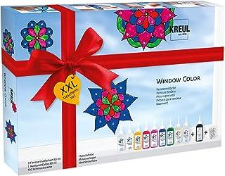 KREUL Hobby Line 42849–Window de Design en Verre de Couleur XXL