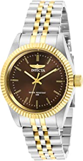 Invicta Women's Quartz Watch, Analog Display and Stainless Steel Strap 29404