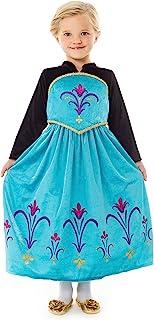 Little Adventures Ice Queen Coronation Dress Up Costume for Girls