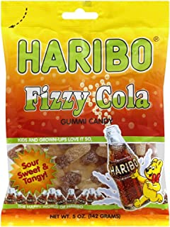 Haribo Sour Cola Gummi Candy - 5 oz.