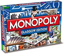 Winning Moves Games Glasgow Monopoly Board Game