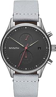 MVMT Voyager Watches   42 MM Men`s Analog Watch   Gritty Glow