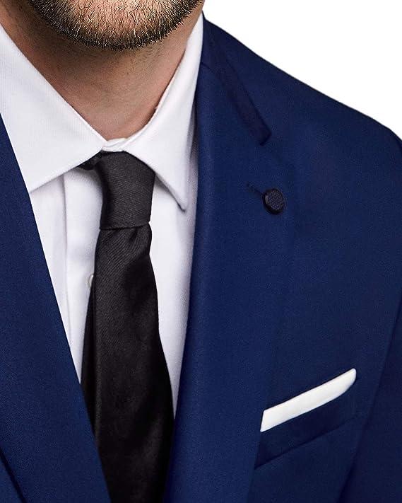 Zara - Chaqueta de Traje - para Hombre Azul 52: Amazon.es: Ropa