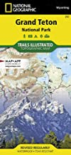 National Geographic Trails Illustrated Grand Teton National Park Map