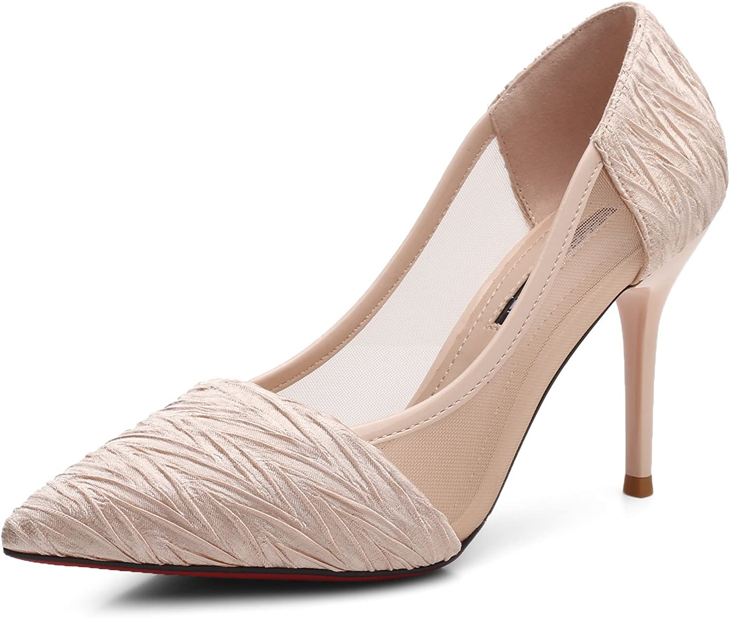 Meiren High-Heeled Sandals Stiletto Pointed Single shoes