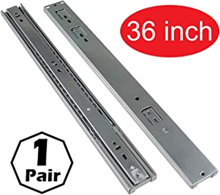 Firgelli Automations Full Extension Drawer Slides 400 lb Capacity (36 Inch)