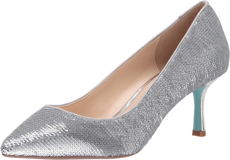 Betsey Johnson Womens Sb-Kamie Heeled Sandal