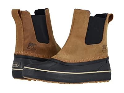 SOREL Cheyannetm Metro Chelsea Waterproof (Elk/Black) Men