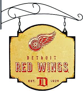 NHL Detroit Red Wings Vintage Tavern Sign