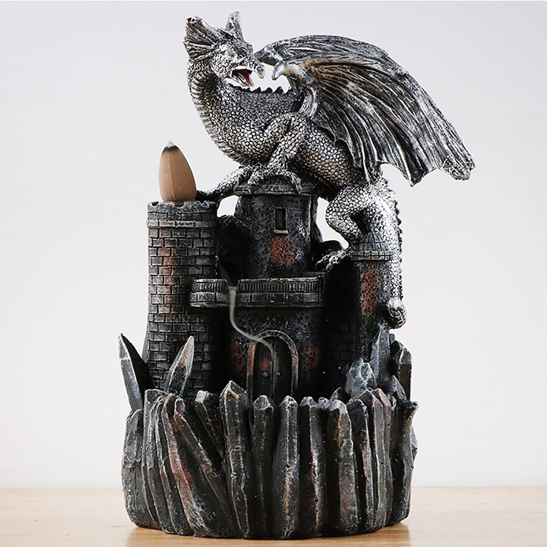 口述する地雷原ストリームドラゴン香炉逆流香炉ホルダースモーク