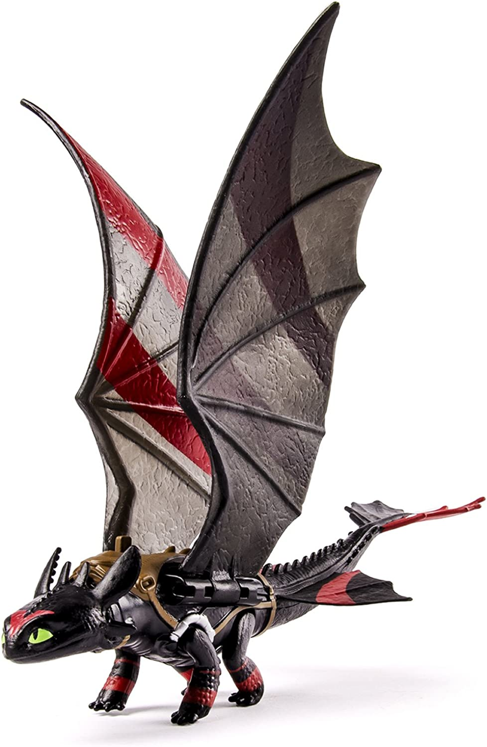 Dragons 2  Krokmou (Wing Motion)  With Racing Stripes  Power Dragon Figurine