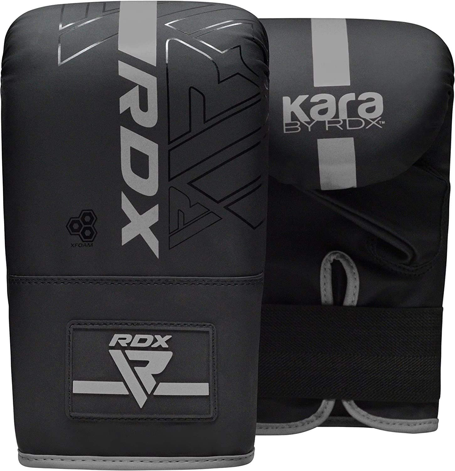 Kickboxing Boxing MMA Muay Thai Karate Training Workout Non Tear Maya Hide Leather Adult Bag with Ceiling Hook Punching Gloves Chain RDX 8PC Punch Bag 5ft 4ft Heavy Filled Set KARA Patent Pending
