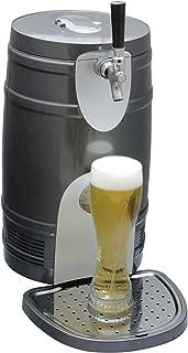 Koolatron KTB05BN 5-Liter Beer Keg Chiiler, Silver