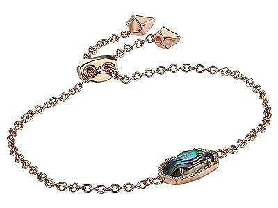 Kendra Scott Elaina Bracelet (Rose Gold Abalone Shell) Bracelet
