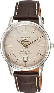 [ロンジン] 腕時計 フラッグシップ ヘリテージ 自動巻き L4.795.4.78.2 メンズ 正規輸入品 ブラウン