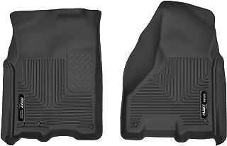 Husky Liners 53511 Black Front Fits 2009-18, 2019 1500 Classic, 2010-18 Dodge Ram 2500/3500 Crew Mega Cab
