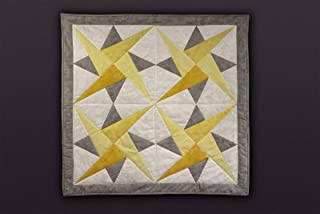 Super Star - by Nite Nite Blanky - Handmade Quilt Artisan Designed - 36x36 The Perfect Baby Gift!