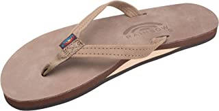 Women's Single Layer Premier Leather Narrow Strap, Dark Brown, Ladies Small / 5.5-6.5 B(M) US