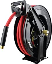 Milton 2780-50D - Steel Dual Arm Auto-Retractable Air Hose Reel, 1/2